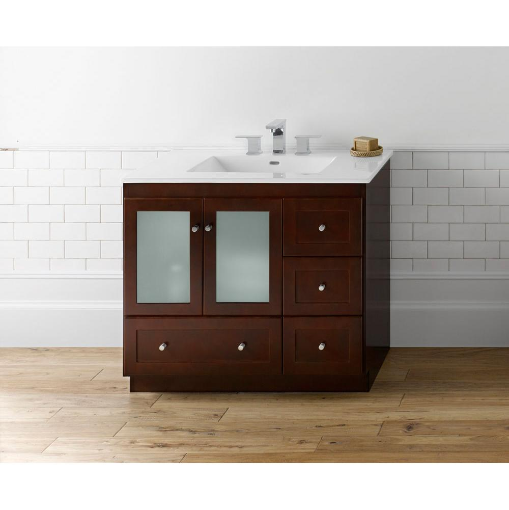Bathroom Vanities Transitional | Kitchen & Bath Design Center - San-Jose -Santa-Clara-California