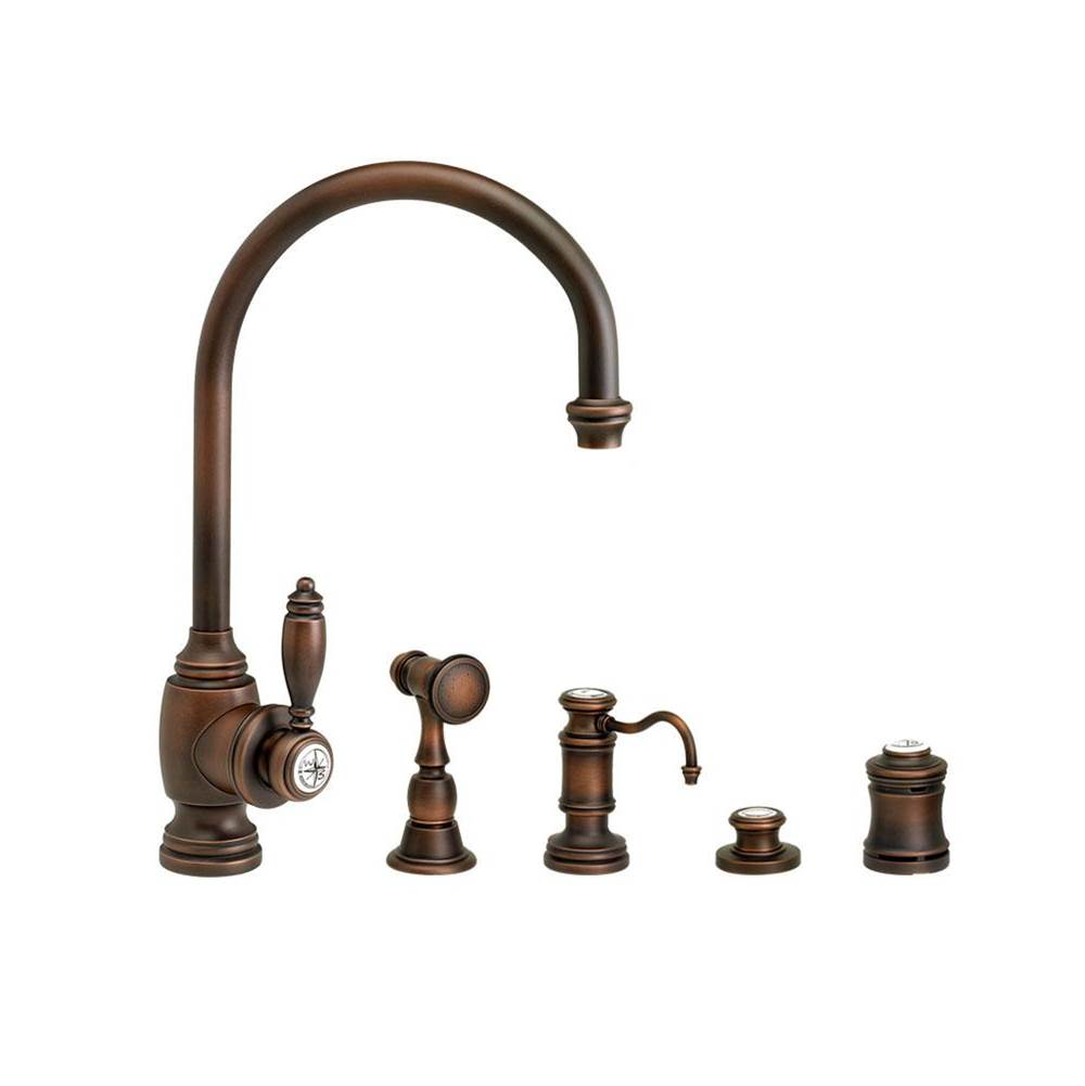 Waterstone Single Hole Kitchen Faucets item 4300-4-SN
